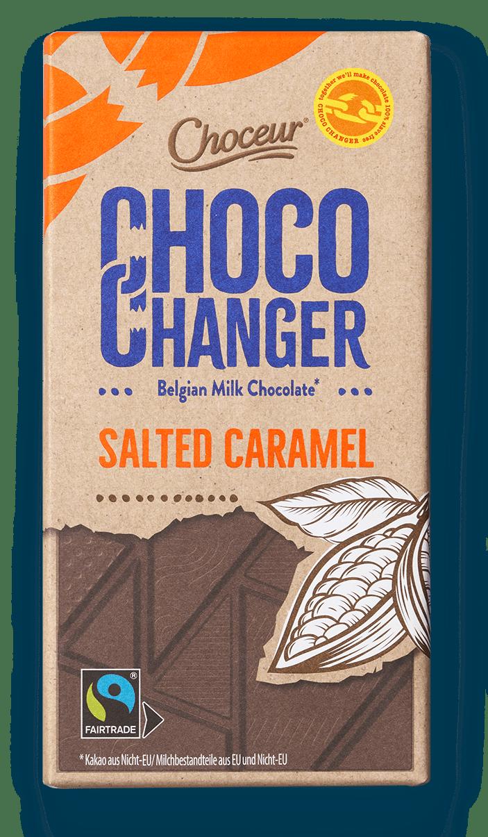 Choco Changer, Milk Caramel Seasalt, BE, GER, NL, PT, ES