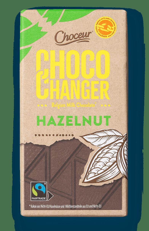 Choco Changer, Milk Hazelnut, BE, GER, NL, PT, ES