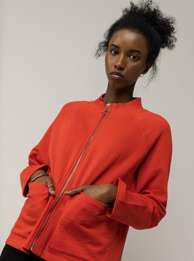 Damen Sweatshirt-Jacke UMA