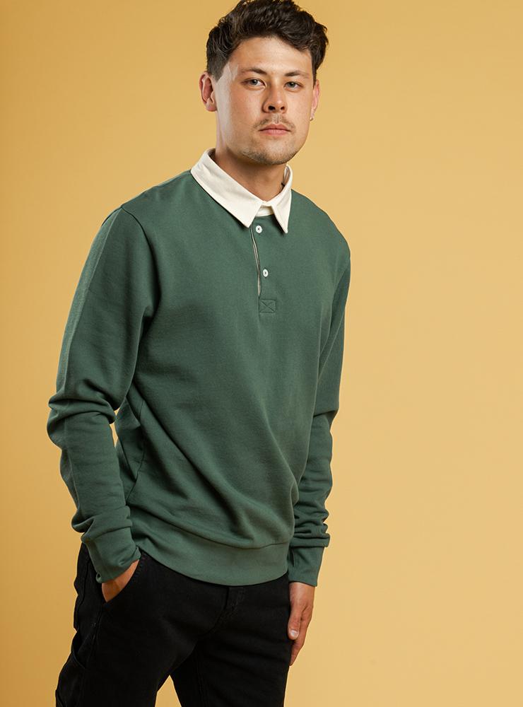 Herren Rugby-Sweatshirt RAJU