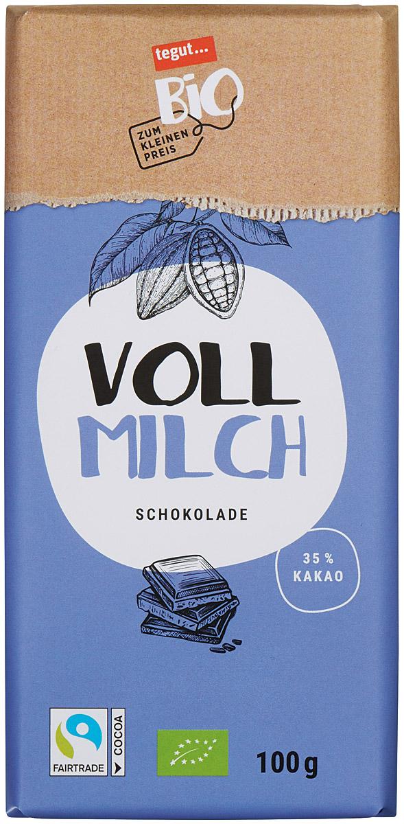 Bio Vollmilch Schokolade