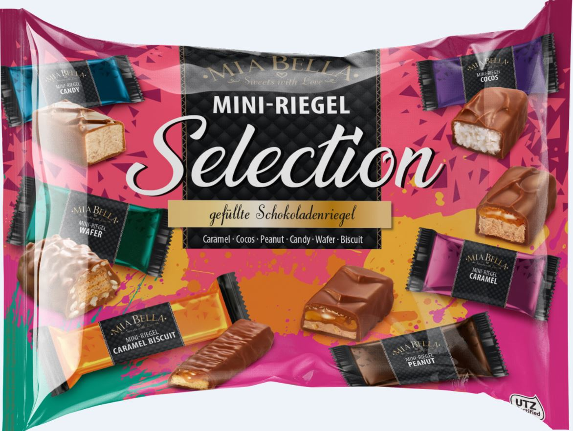 Mini-Riegel Selection