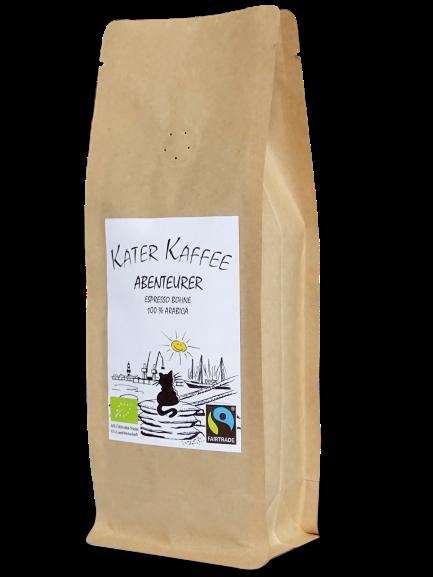 Kater Kaffee Abenteurer Bio Fairtrade