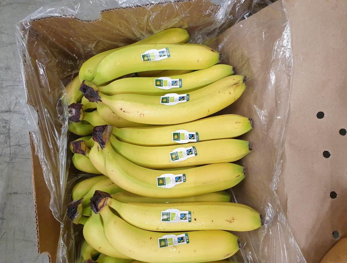 Bio, Bananen ORG FT 13kg Bio Sonne Sticker