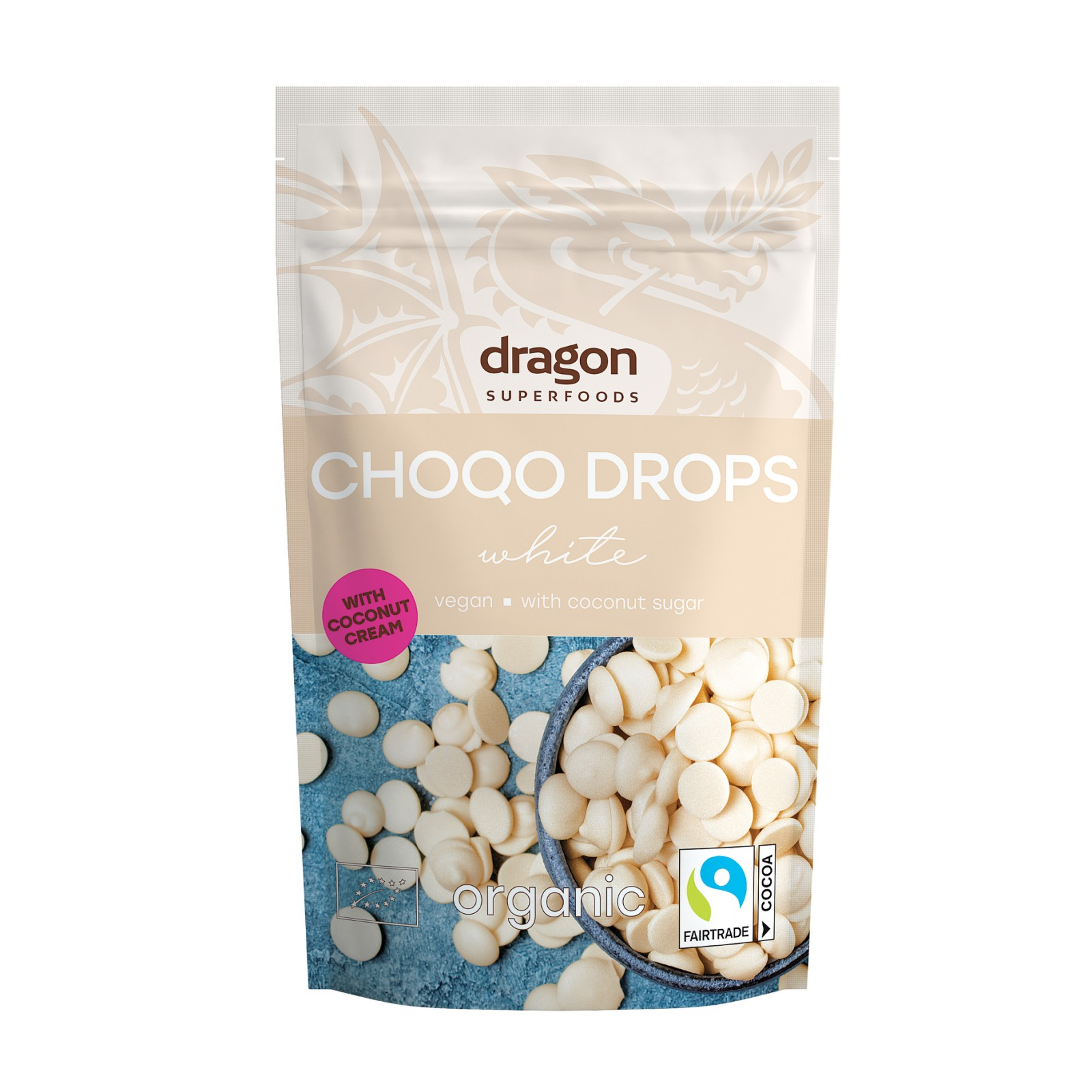 Choco drops White