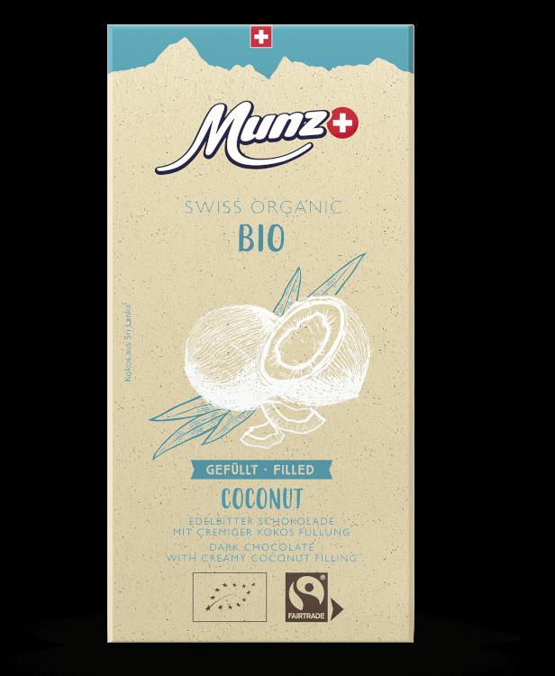 Tafelschokolade Coconut (12 x 100g)