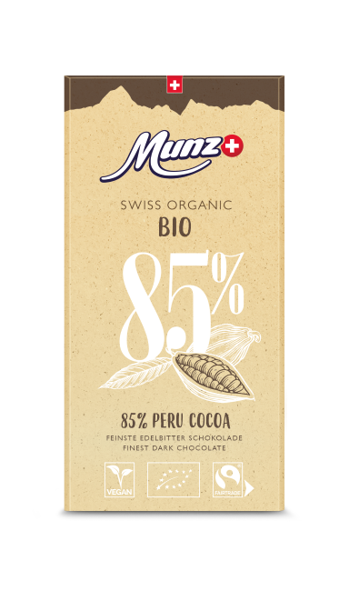 Tafelschokolade Peru 85 Prozent