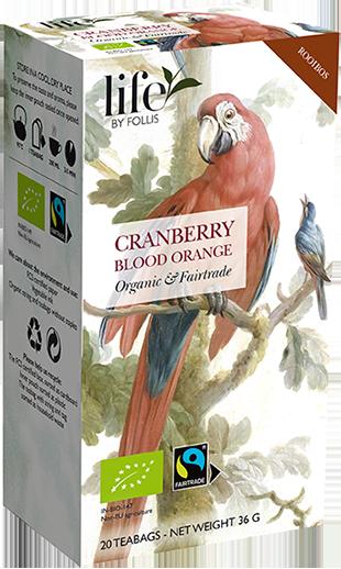 Rooibos Cranberry Blood Orange Tea Bags