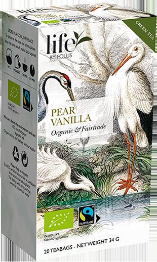 Green tea Rooibos Pear Vanilla Tea Bags