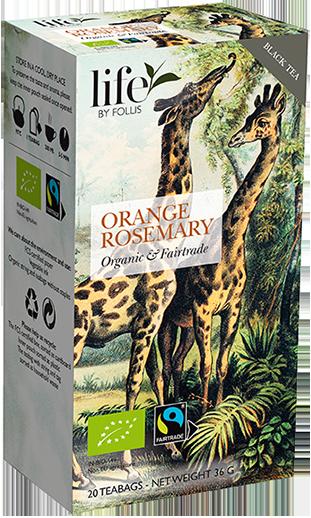 Orange Thyme Tea Bags