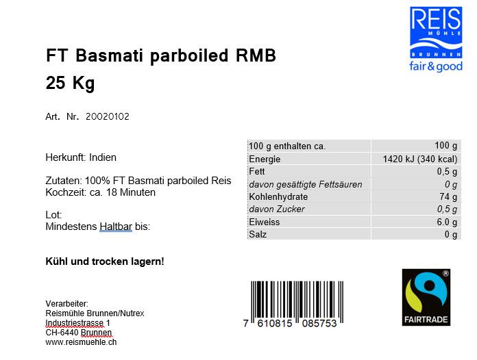 FT Basmati Parboiled