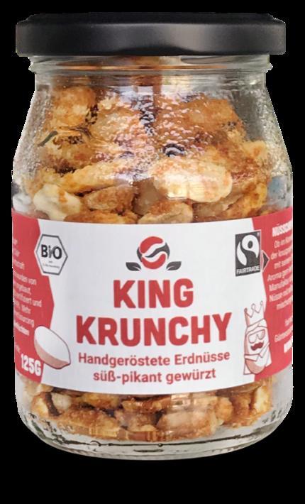 Erdnüsse Paprika & Agavendicksaft (125g)