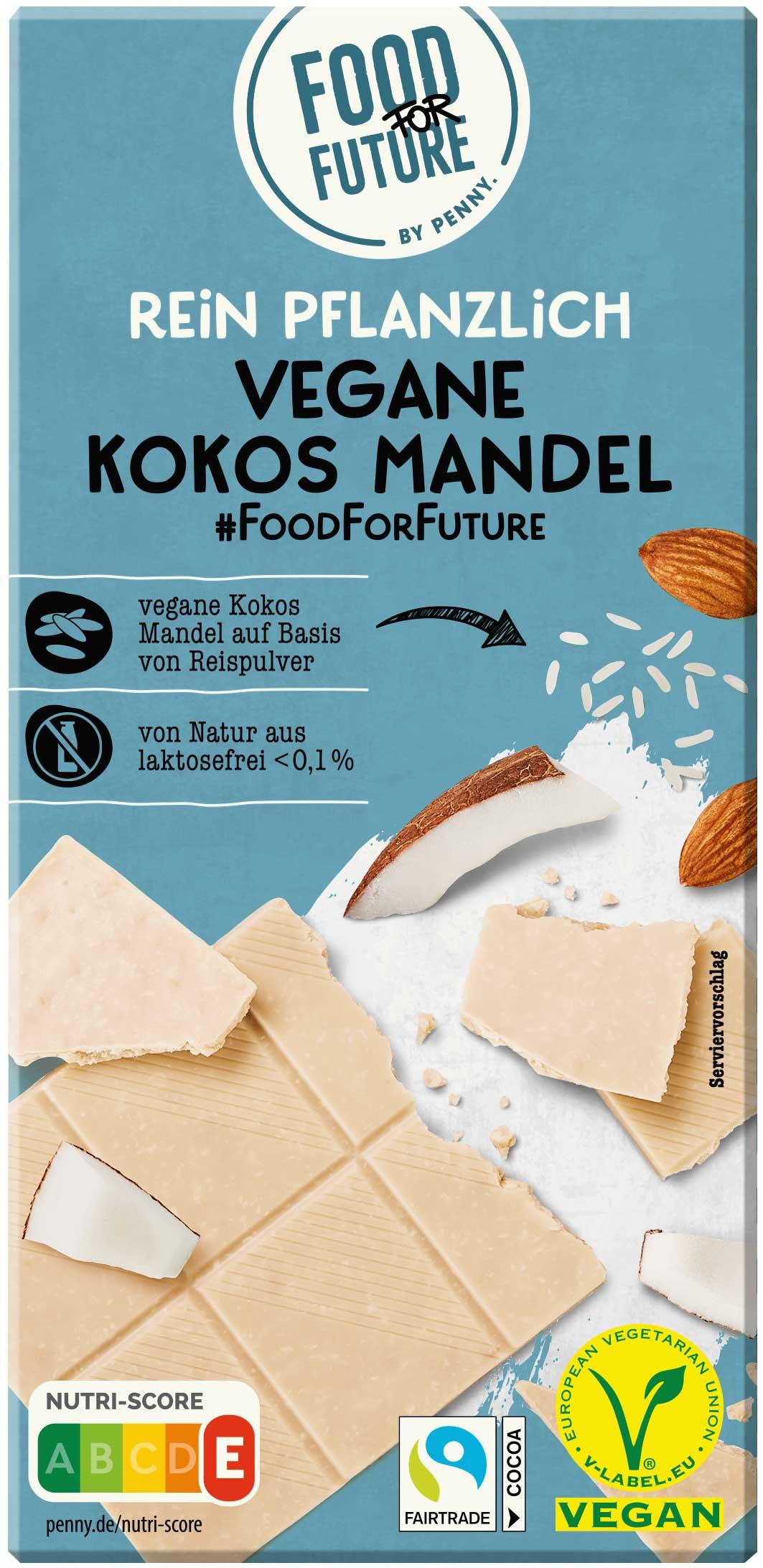 Penny Food for Future Vegane Kokos Mandel