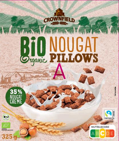 Bio Nougat Pillows 325g