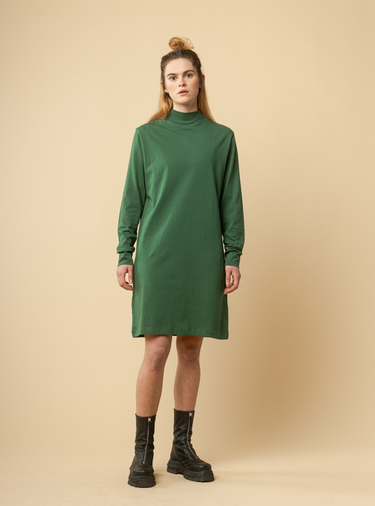 Damen Mockneck Jerseykleid JANANI