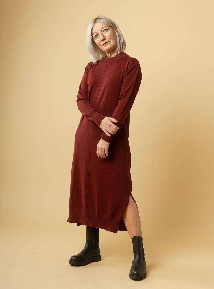 Damen Feinstrick Kleid SUNITA