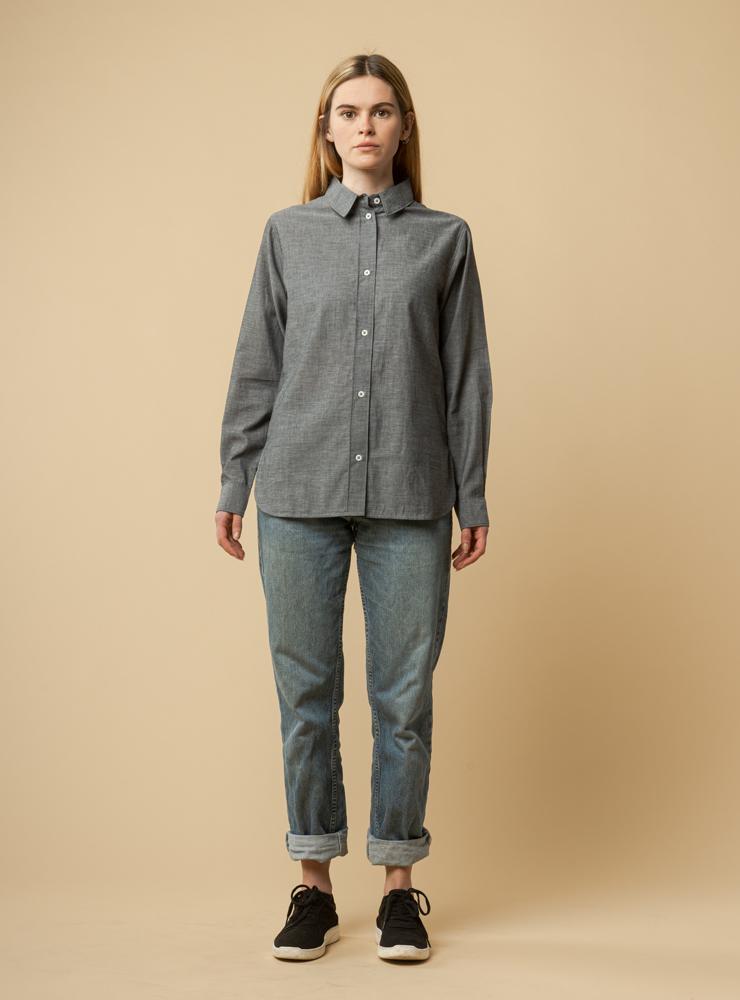 Damen Klassische Bluse NAINA