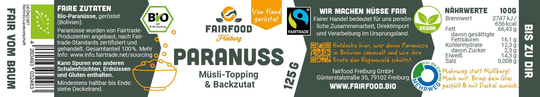 Paranuss Topping 125g
