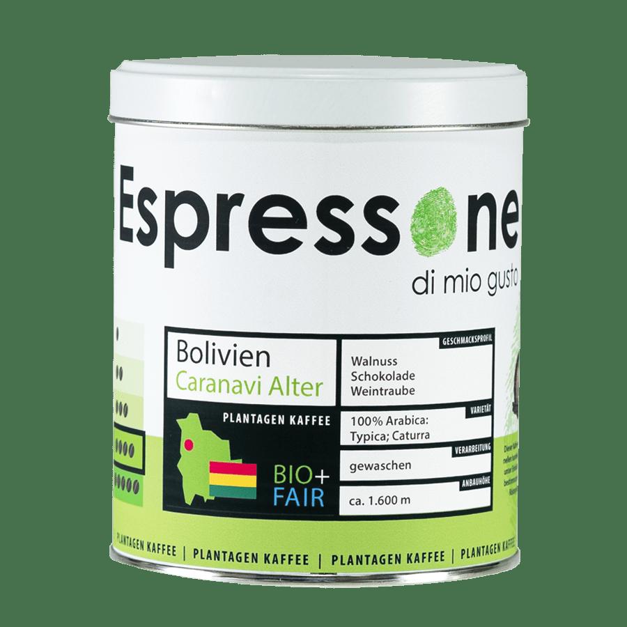 Plantagenkaffee Bolivien Caranavi Alter