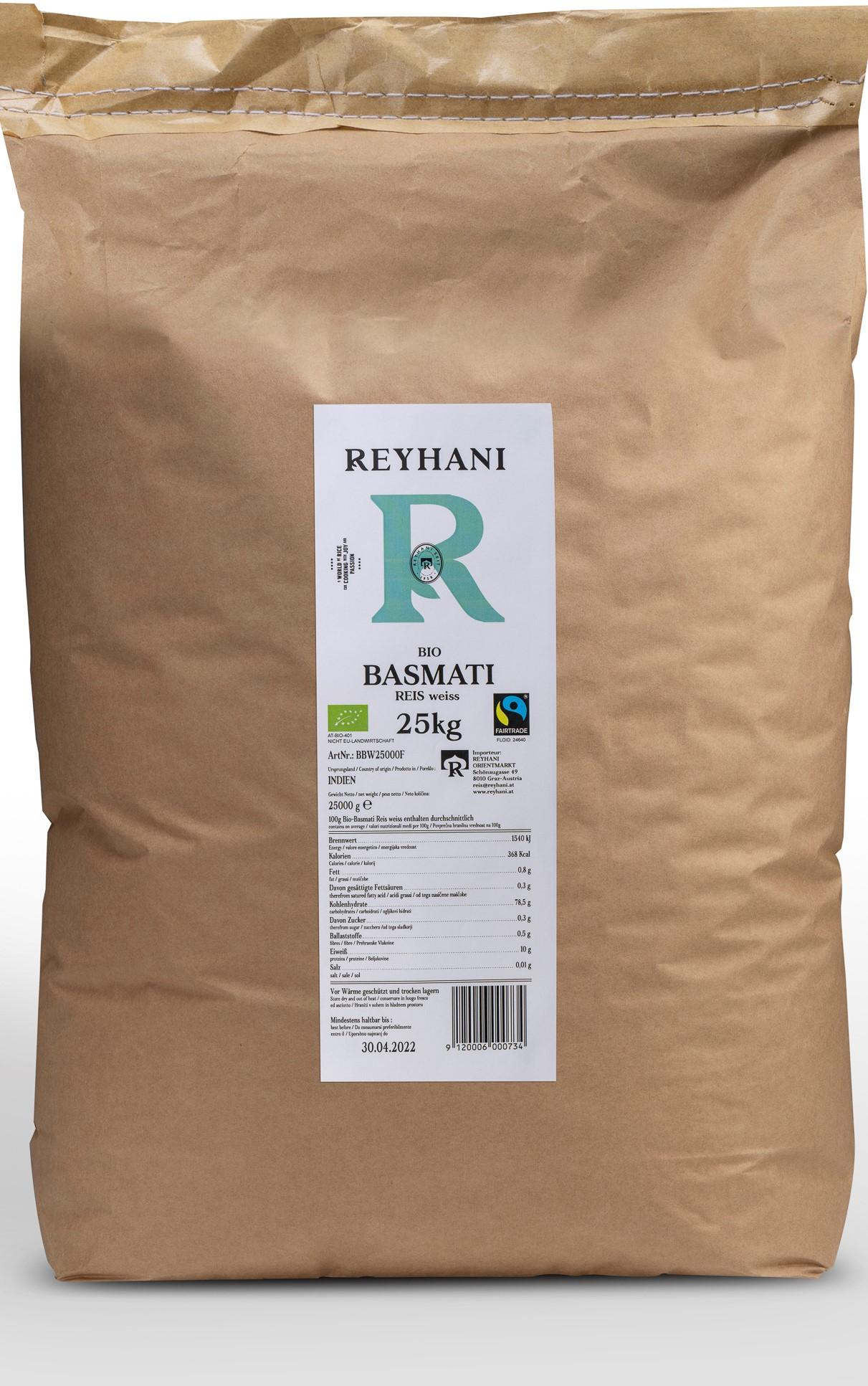 Basmati Reis weiss