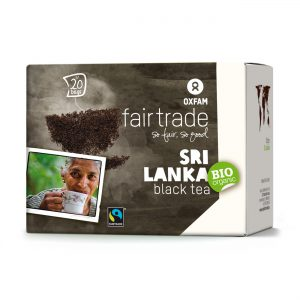 Oxfam Fair Trade – Thé noir bio – 36 gr