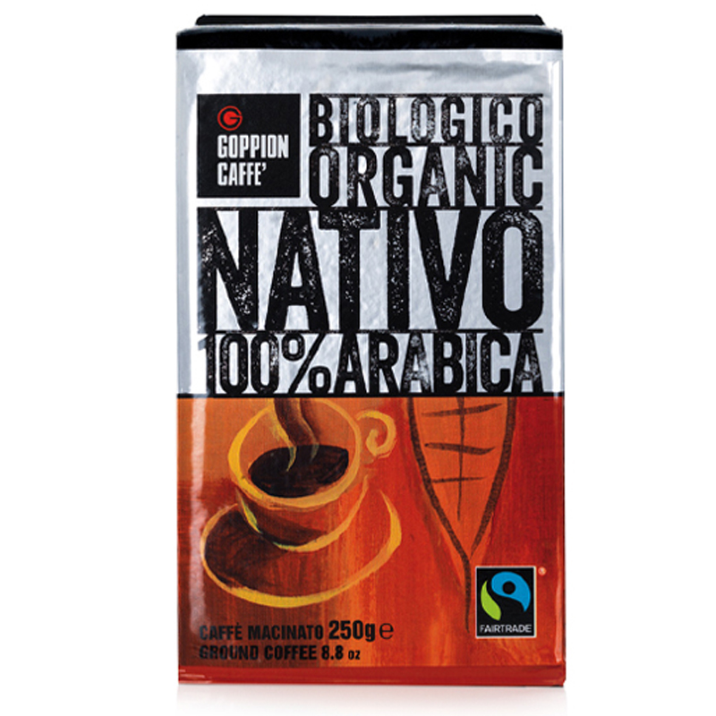 Caffè NATIVO bio moka bag