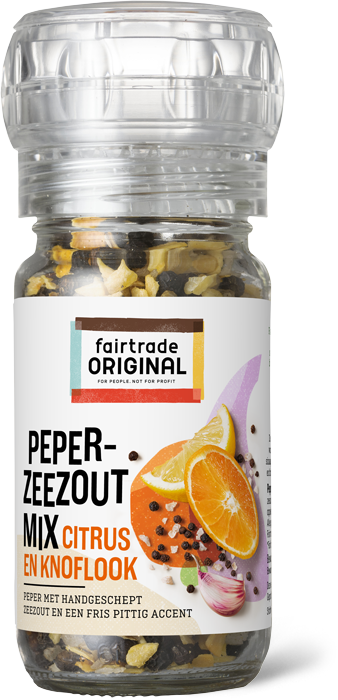 Pepermix Zeezout Citrus Knoflook