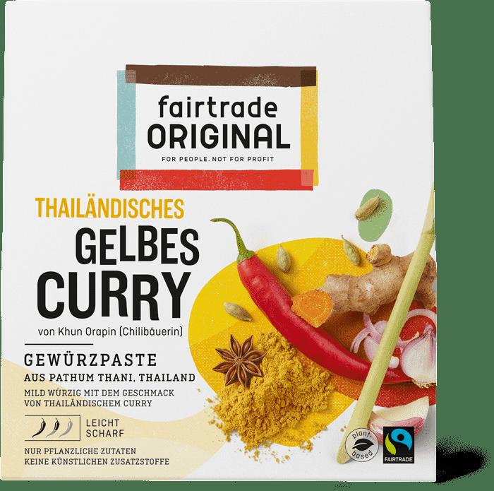 Gele curry kruidenpasta