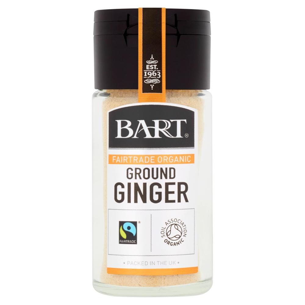 Ground Ginger, Fairtrade Organic