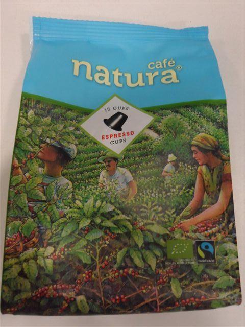 Cafe natura espresso Bio FT capsules 9x15x5 g