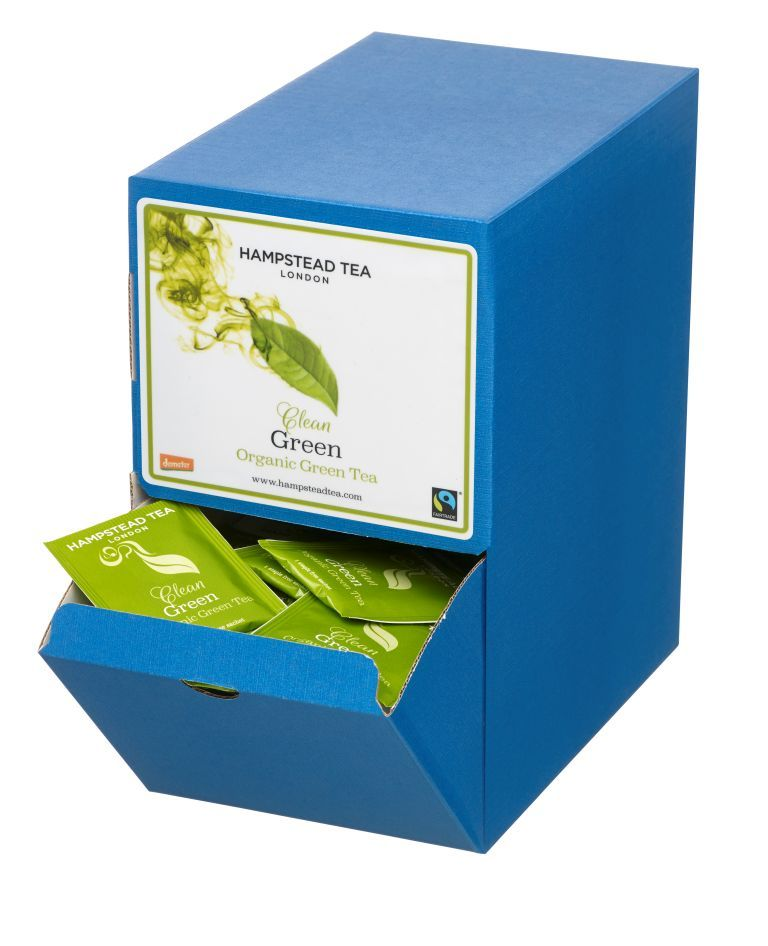 Organic Fairtrade Green Tea 250s