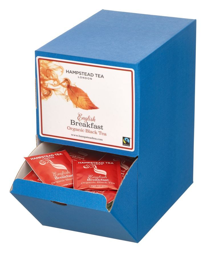 Organic Fairtrade English Breakfast Tea 250s