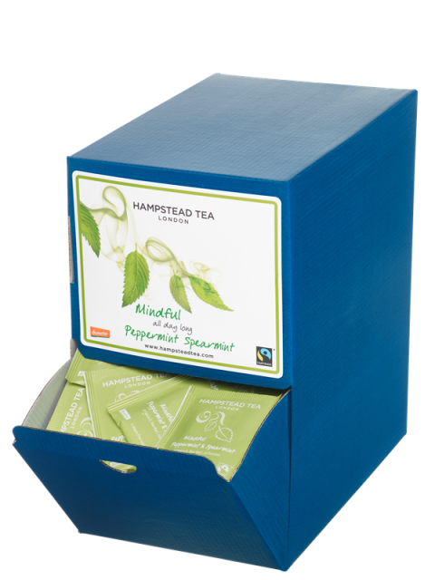 Organic Fairtrade Peppermint Tea Bags 250s