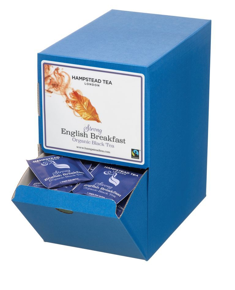 Organic Fairtrade Strong English Breakfast Tea 250s