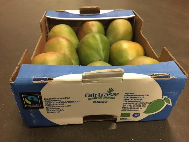 Organic Fairtrade Mango Burkina Faso