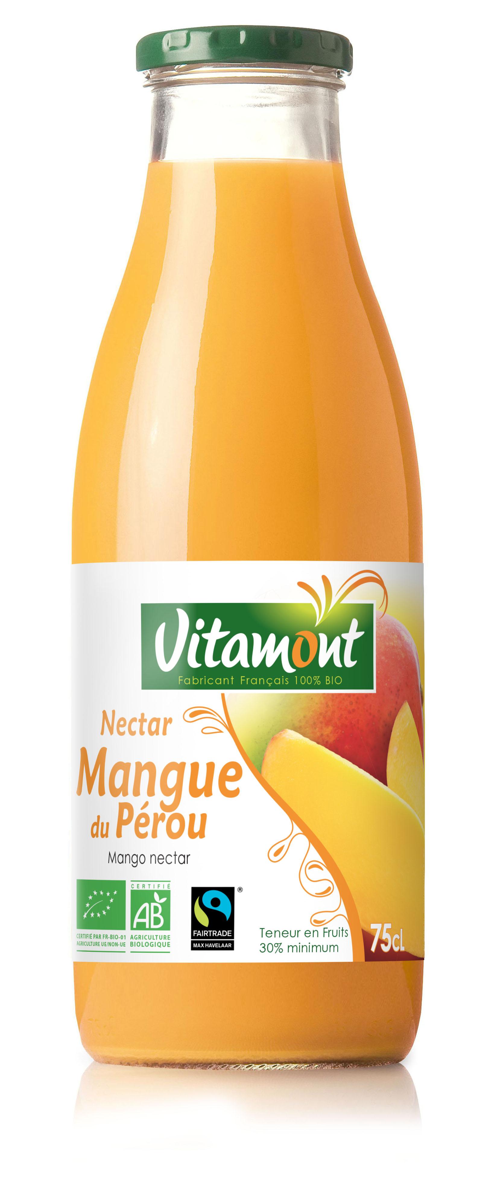 Nectar de mangue du Pérou