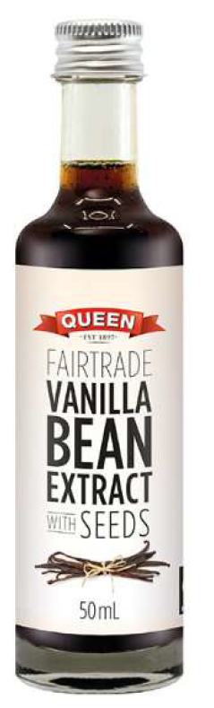 Fairtrade Vanilla Bean Extract w seeds