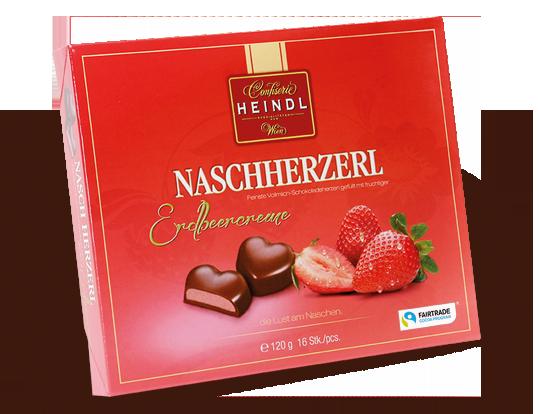 Nasch Herzerl - Erdbeer