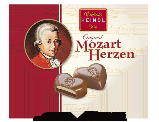 Mozartherzen 3 Stück