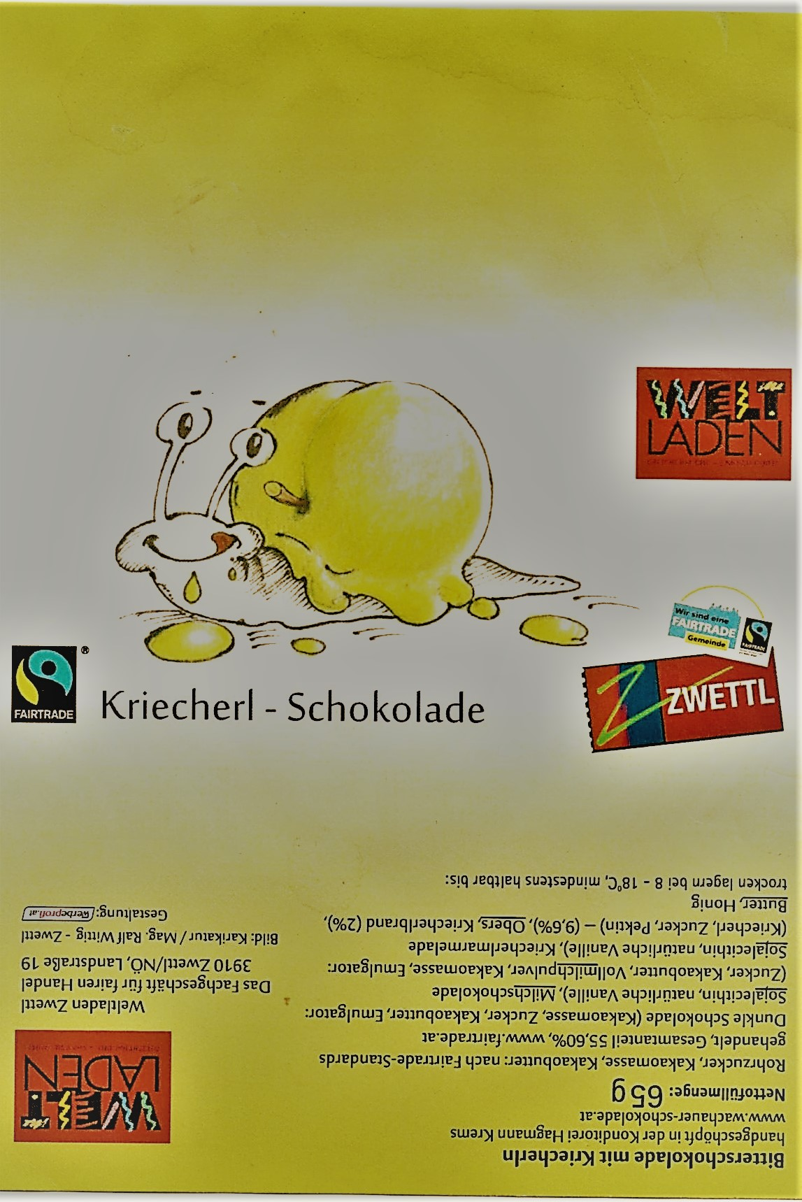 Kriecherl Schokolade
