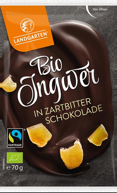 BIo FT Ingwer Zartbitter 70g