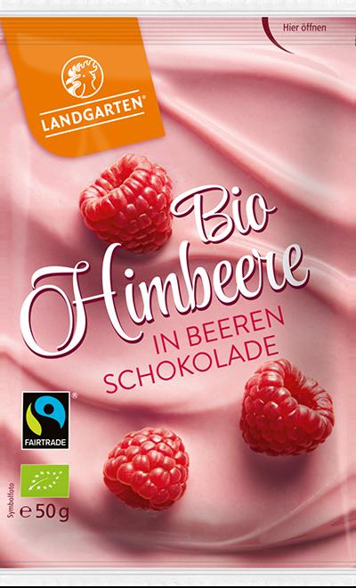 Bio FT Himbeere Beerenschokolade 50g