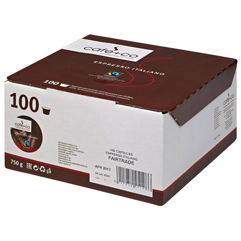 Espresso Italiano Kaffeekapseln 100 Stk à 8 g