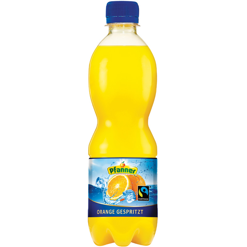 Orange gespritzt