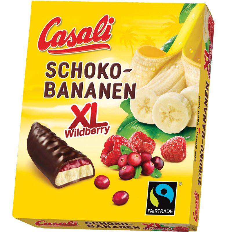 Schoko-Bananen XL Wildberry