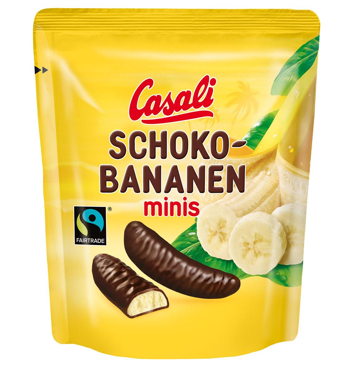 Schoko-Bananen mini