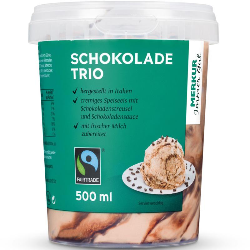 Schokolade Trio Eis