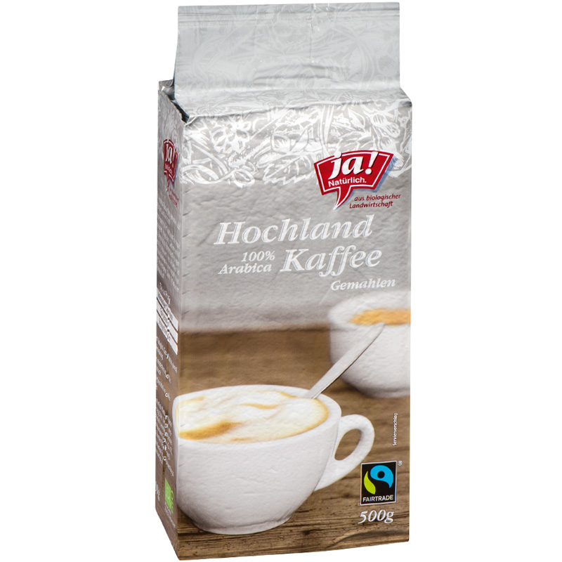 Arabica Hochland Kaffee gemahlen