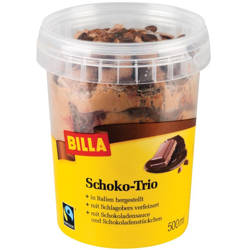 Billa Schoko Trio Eis