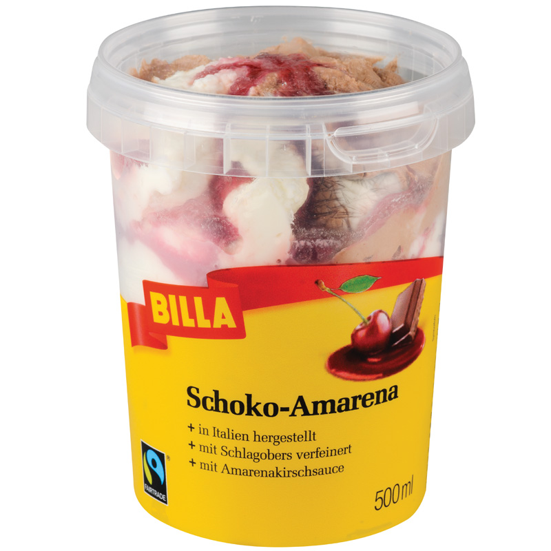 Schoko-Amarena Eis